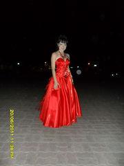 Вечернее пышное платье